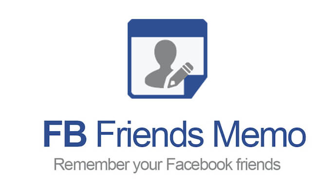 Facebook Friends Memo